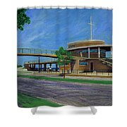 Bradford Beach House Shower Curtain