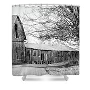 Bradford County Road Shower Curtain