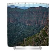 Bradost Mountain Shower Curtain