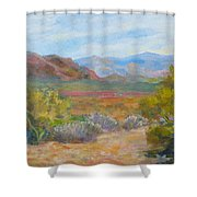 Bradshaws, West Of Phoenix Shower Curtain