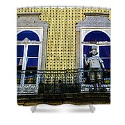 Braga Balcony Shower Curtain