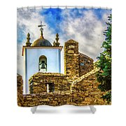 Braganca Bell Tower Shower Curtain