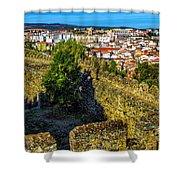 Braganca Citadel Shower Curtain