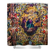 Braganca's Painted Ceiling Shower Curtain