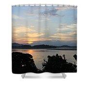 Brahmaputra Sunset Shower Curtain