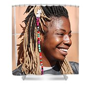 Braided Lady Shower Curtain