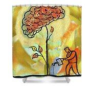 Brain Care Shower Curtain