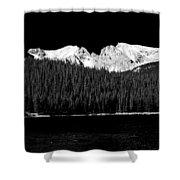 Brainard Lake - Indian Peaks Shower Curtain