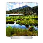 Brainard Lake Rocky Mountain National Park Shower Curtain