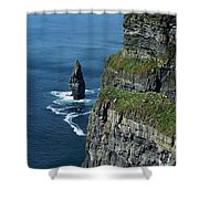 Brananmore Cliffs Of Moher Ireland Shower Curtain