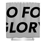 Brand T-shirt Shower Curtain