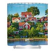 Brandaholm Cottages Shower Curtain