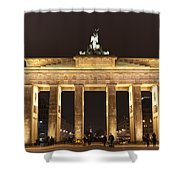 Brandenburg Gate Shower Curtain