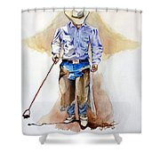 Branding Blisters Shower Curtain