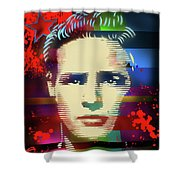 Brando Odyssey Shower Curtain