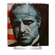 The Godfather-brando Shower Curtain