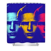 Brando Triple  Shower Curtain