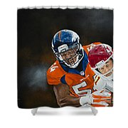 Brandon Marshall Shower Curtain