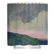 Bras D'or Lake Shower Curtain