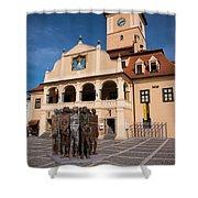 Brasov Town Hall Shower Curtain