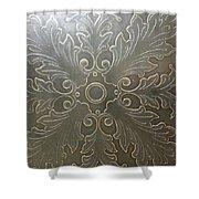 Brass Masterpiece Shower Curtain