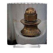 Brass Nut Shower Curtain