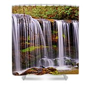 Brasstown Falls 005 Shower Curtain