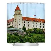 Bratislava Castle One Shower Curtain