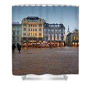bratislava 'II Shower Curtain