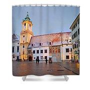 bratislava 'III Shower Curtain