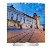 bratislava 'XXXVI Shower Curtain