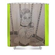 Brave Kirk Shower Curtain