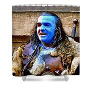 Braveheart Busker In Edinburgh Shower Curtain