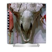 Bravery And Strength Shower Curtain