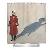 Bravery Has A Shadow - The Chelsea Pensioner  Shower Curtain