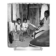 Brazil: Favela, 20th Century Shower Curtain