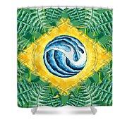 Brazil Wave 01 Shower Curtain