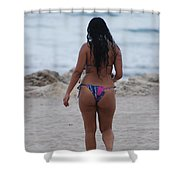 Brazilian Beauty Shower Curtain
