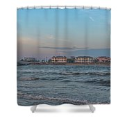 Breach Inlet Water Scape Shower Curtain