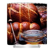Bread And Honey Shower Curtain