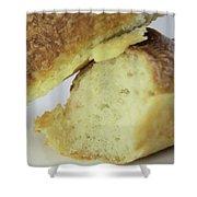 Break Bread Shower Curtain