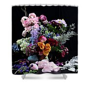 Break Into Blossom Shower Curtain