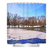 Break The Ice Shower Curtain