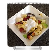 Fruit Salad For Breakfast  Shower Curtain