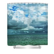 Breaking Clouds In Key West, Florida Shower Curtain
