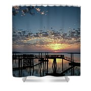 Breaking Clouds Shower Curtain