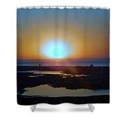 Breaking Dawn In The Big Ac Shower Curtain