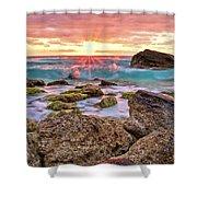 Breaking Dawn Shower Curtain by Marcia Colelli