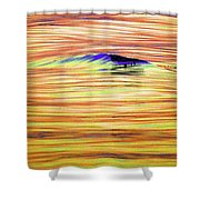Breaking Swell Two  Shower Curtain