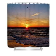 Breaking The Horizon 2 412 Shower Curtain